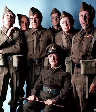 Image result for dad's army tv series dvd covers