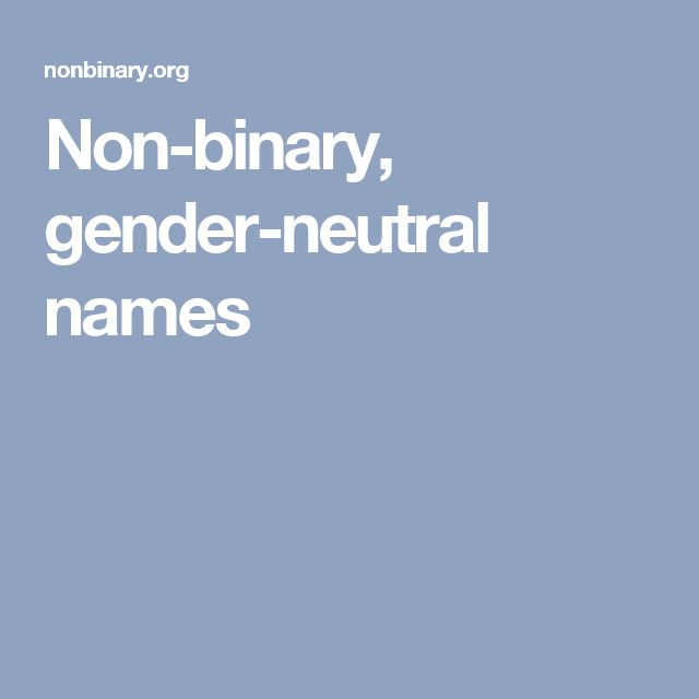 1000 ideas about Gender Neutral Names on Pinterest  Baby