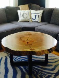 25+ Best Ideas about Log Coffee Table on Pinterest | Log ...