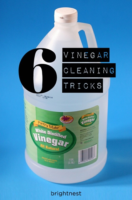 6 clever ways to clean with vinegar! #springcleaning – Good2Know:  (1) Clean Pai