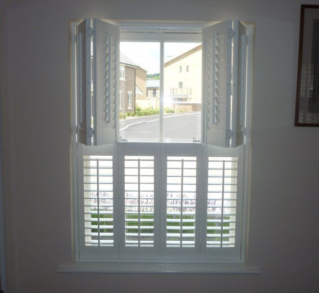 we would like the shutters to split in half like this so that the upper