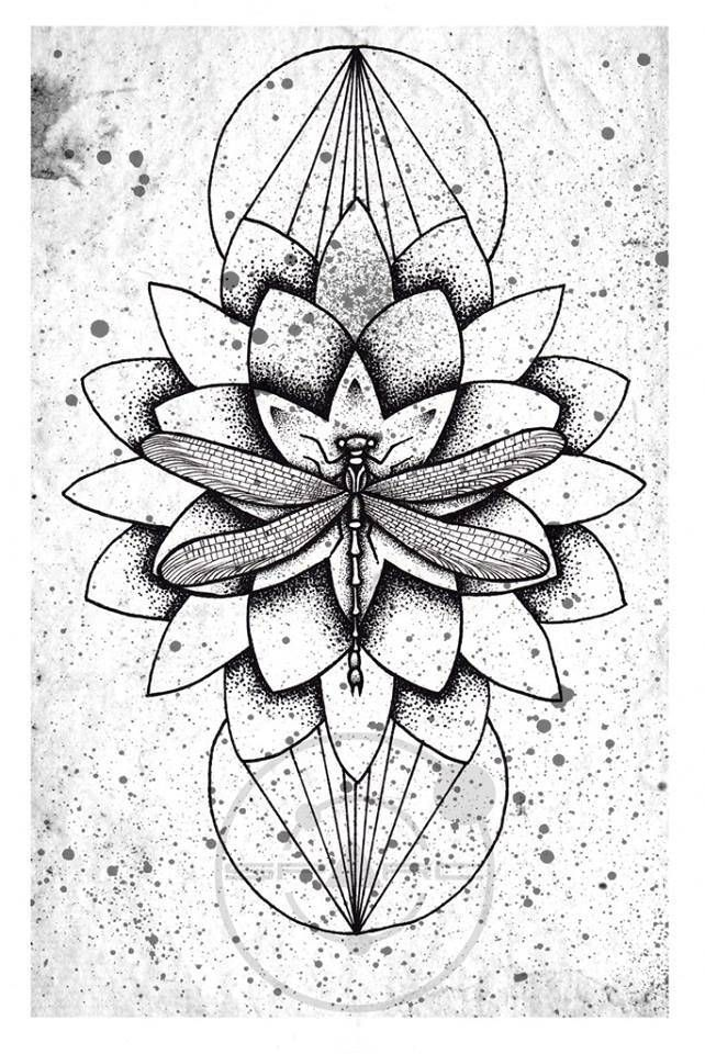 1000+ ideas about Geometric Flower Tattoos on Pinterest