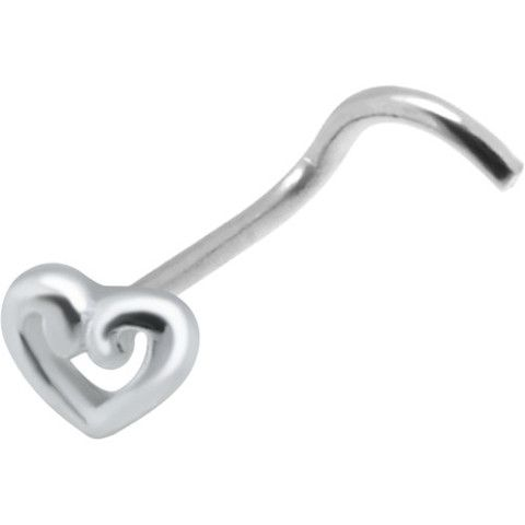 17 Best ideas about Corkscrew Nose Ring on Pinterest