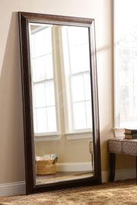 Add a large mirror to a small room to add depth! Plus ...