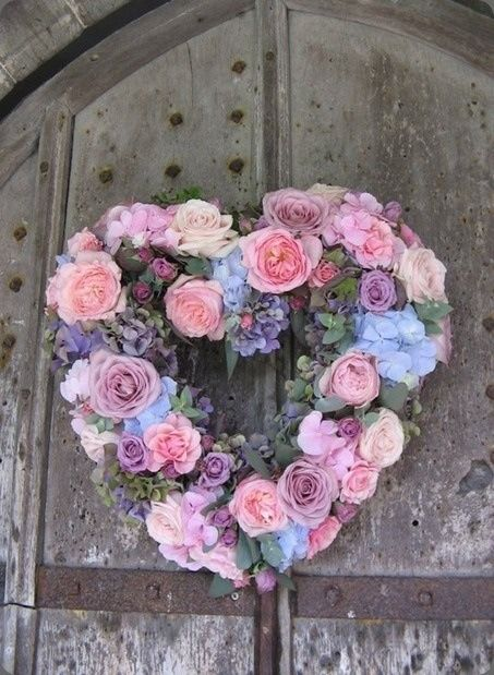 17 Best Images About SHABBY CHIC HEARTS Amp WREATHS On