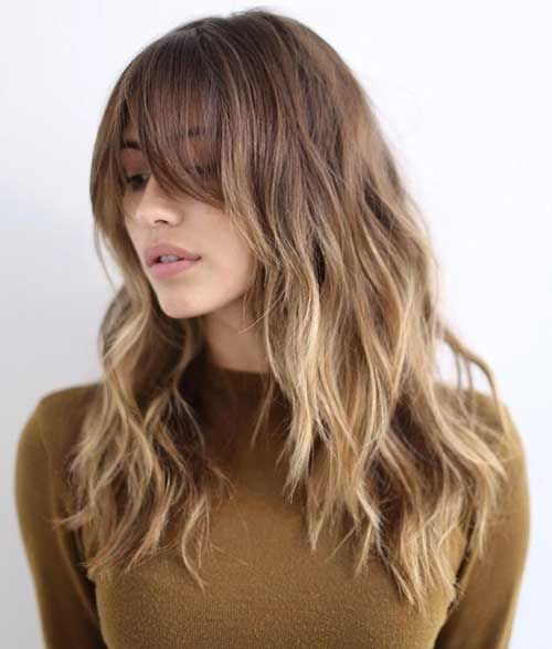 25 Best Ideas About Bangs Wavy Hair On Pinterest Wavy Bangs