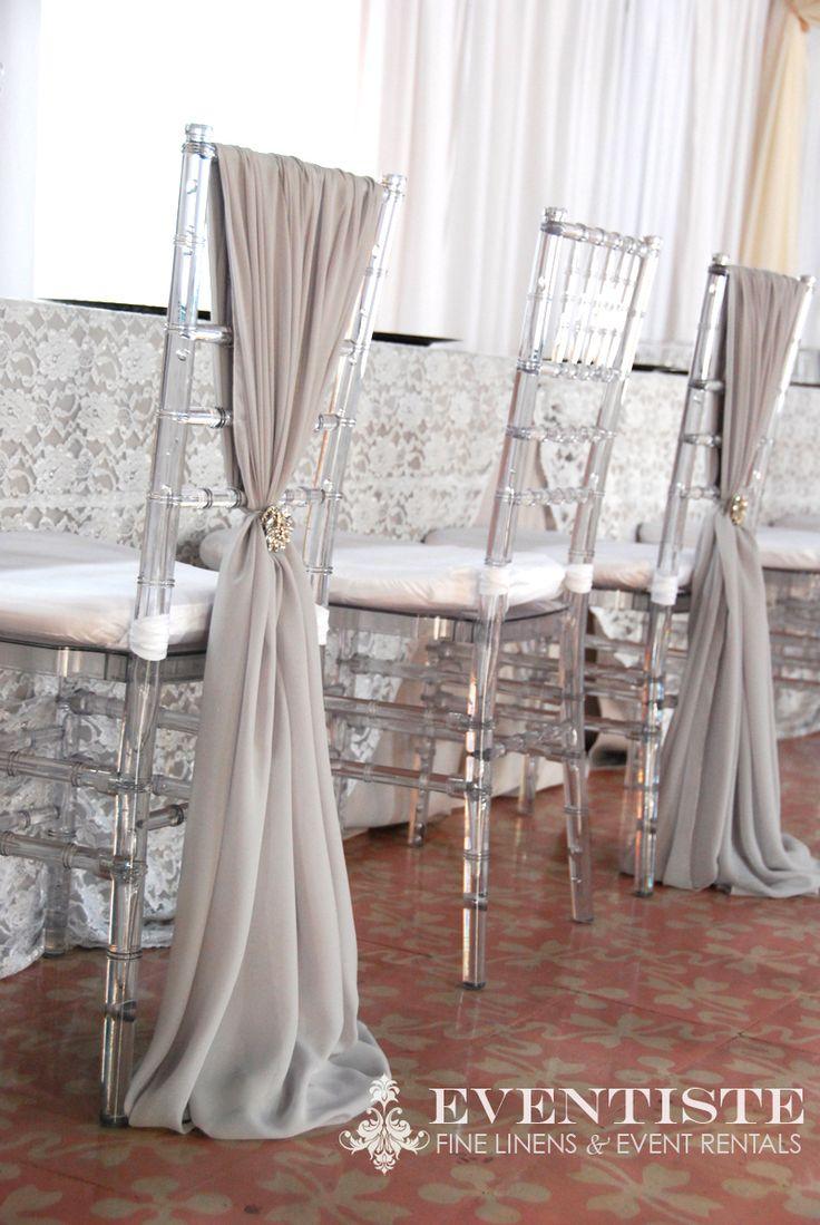 Clear Chiavari Chair Covers  Chiavari Chair Sashes