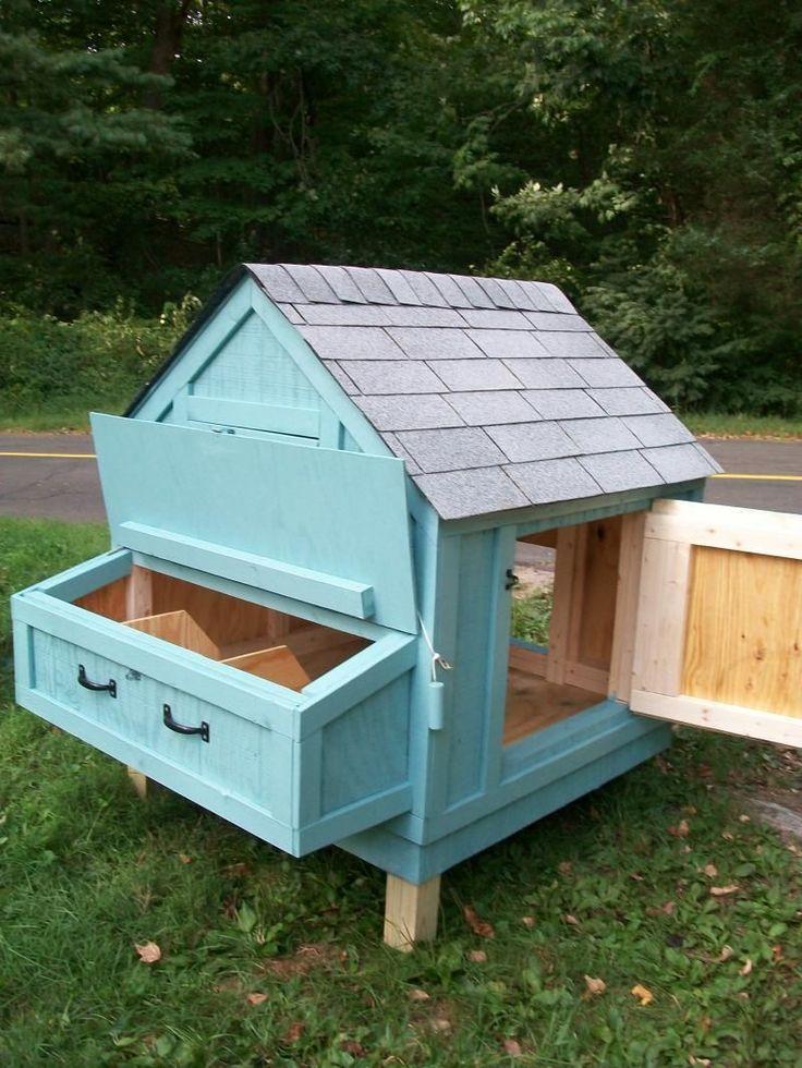 Small Chicken Coop Ideas