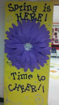 Spring classroom door :) | DOOR & BULLETIN BOARD IDEAS ...