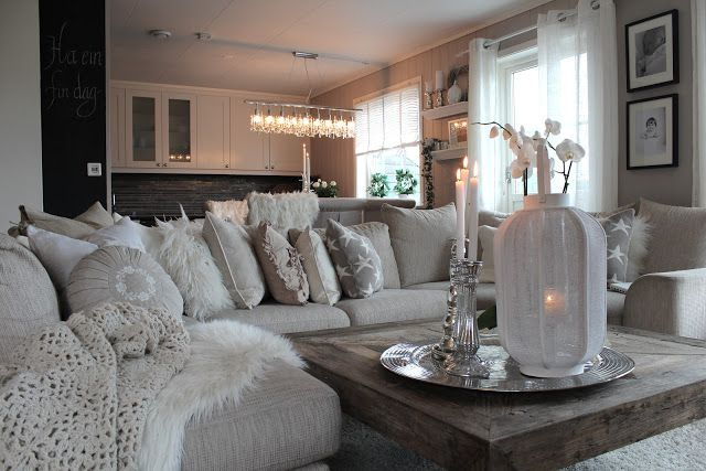 Colors Gray and Pillows on Pinterest