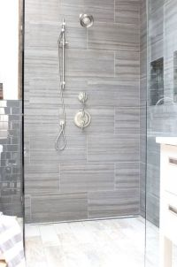 Best 20+ Gray Shower Tile ideas on Pinterest | Large tile ...