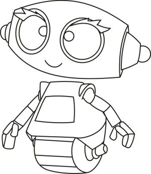 robot coloring pages robots simple colouring drawing printable kid