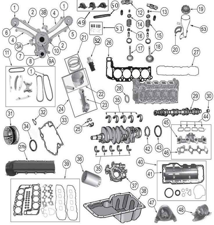 Grand Cherokee WK 4.7 Liter Daimler-Chrysler Engine