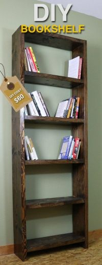 Best 20+ Rustic bookshelf ideas on Pinterest | Bookshelf ...