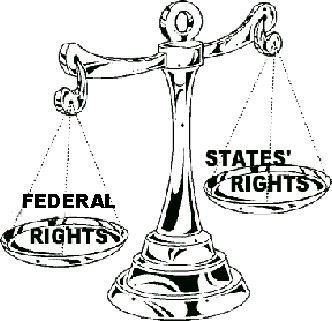Weak Central Government Clip Art