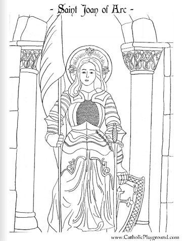 165 best images about Saints Coloring Pages on Pinterest