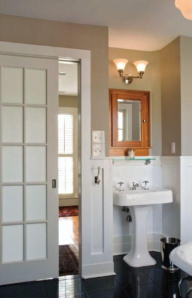 sliding pocket door bathroom 1000+ images about Pocket Doors on Pinterest | Pocket doors, Sliding doors and Glasses