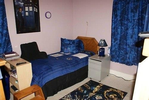 Fantastic Doctor Who themed bedroom  Rooms  Pinterest