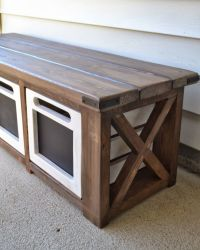 25+ best ideas about Front porch bench on Pinterest ...