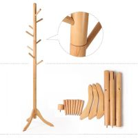 Sweet Portable Free Standing Wooden Coat Rack Design With ...