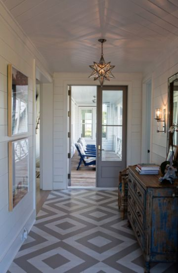 25+ best ideas about Painted Floors on Pinterest