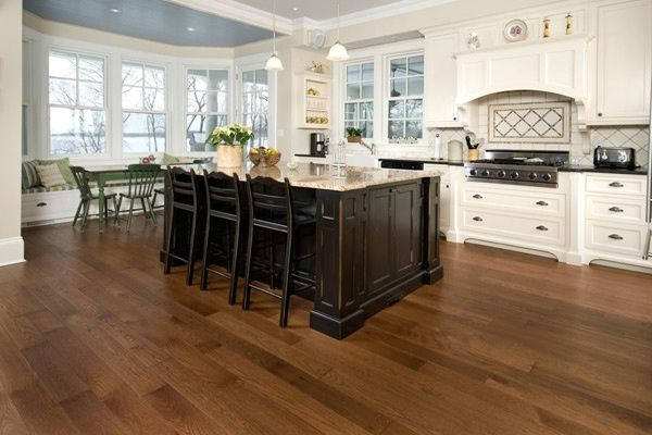 distressed hickory hardwood flooring  Virginia distressed