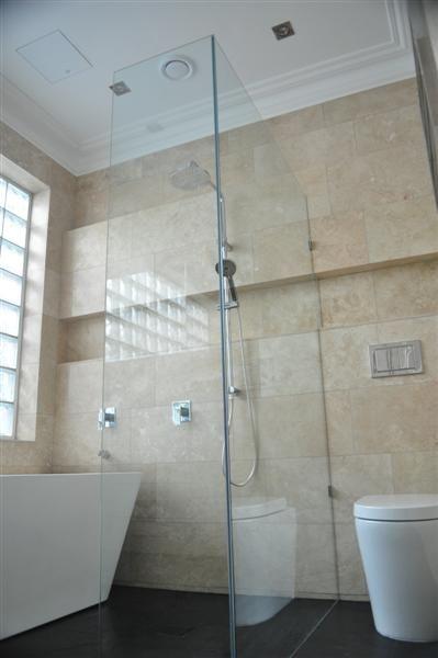 Loranda Travertine Walls  Turkish Bluestone Floors