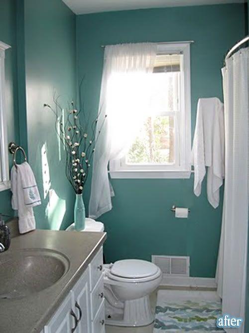Sherwin Williams 6480 Lagoon Bathroom Pinterest
