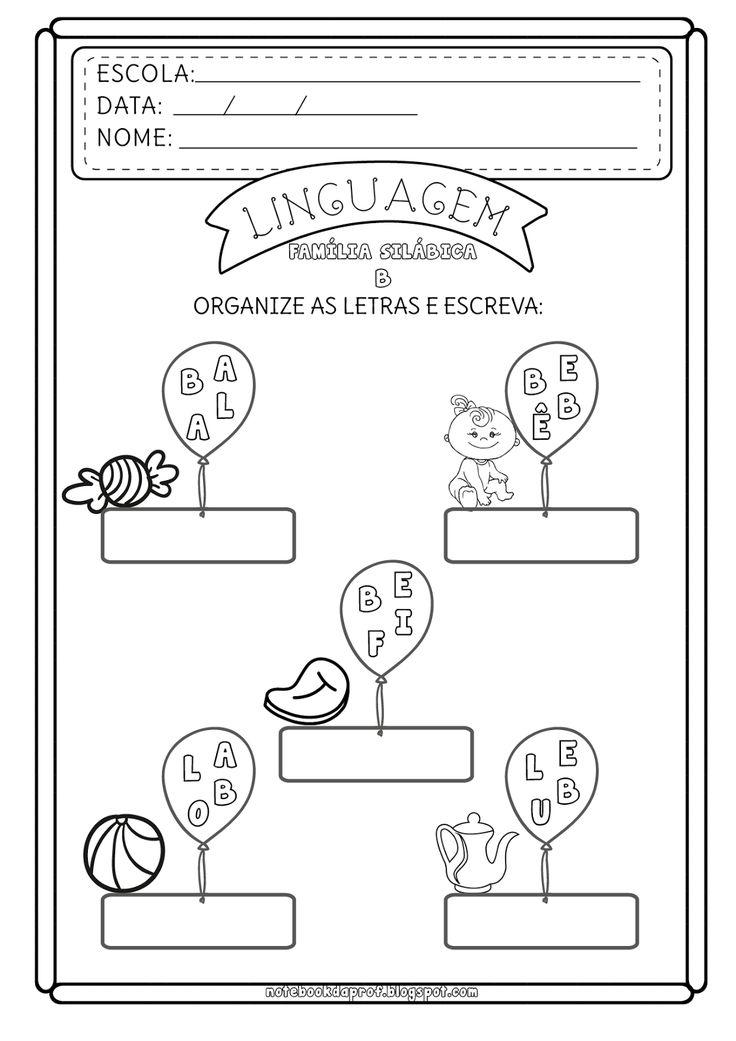 1986 best images about Linguagem O. Ab. Escrita on