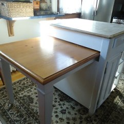 Folding Kitchen Island Cabinets Ri Retractable Table | Islands & Carts Pinterest ...