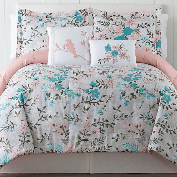 Inspire Harriet Comforter Set  JCPenney  Mayas room  Pinterest  Comforter and Comforter sets