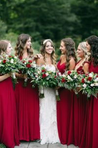 17 Best ideas about Red Bridesmaid Dresses on Pinterest ...