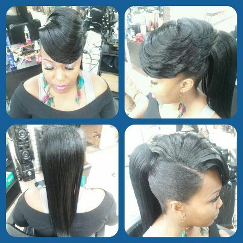 ponytail with feathered bang hairstyle ideas pinterest bangs and feathered bangs