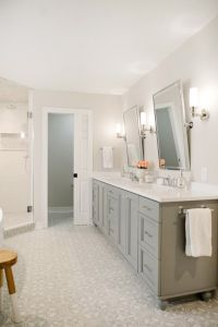 25+ best ideas about Gray bathroom vanities on Pinterest ...
