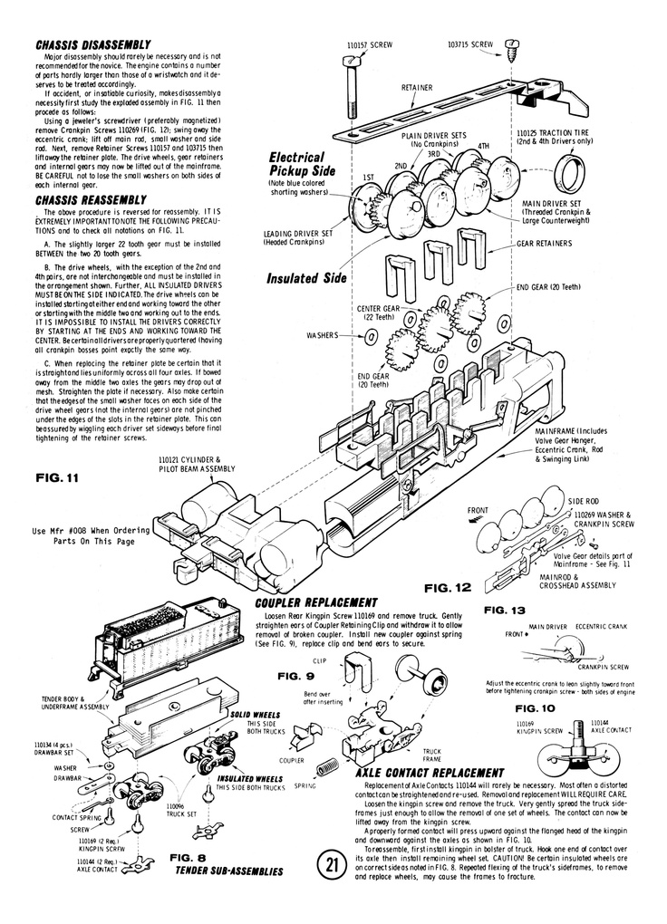 1000+ images about Atlas/Rivarossi N Steam Engine Manuals