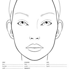 Blank Face Diagram Botox Carrier 30ra Chiller Wiring 10 Chart Templates (male Charts And Female Charts) - Beautynewbie | Stencil ...