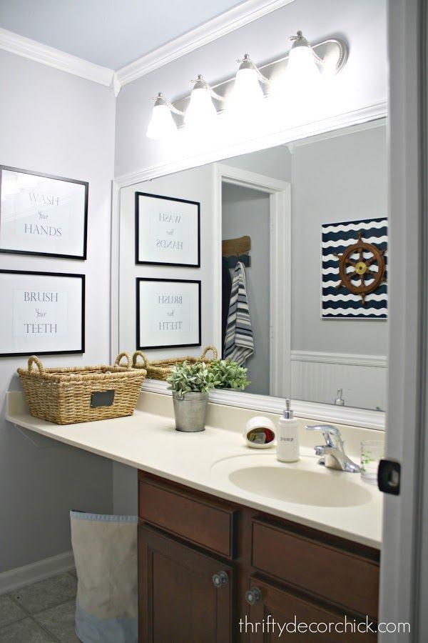 Simple Bathroom Makeovers