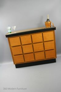 MID Century Modern BAR Cocktail Cabinet Vintage Retro ...