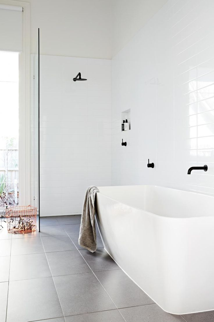 25 Best Ideas About Simple Bathroom On Pinterest Bath Room Neutral Bathroom And Subway Tile