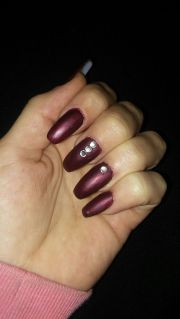 1000 ideas burgundy nail