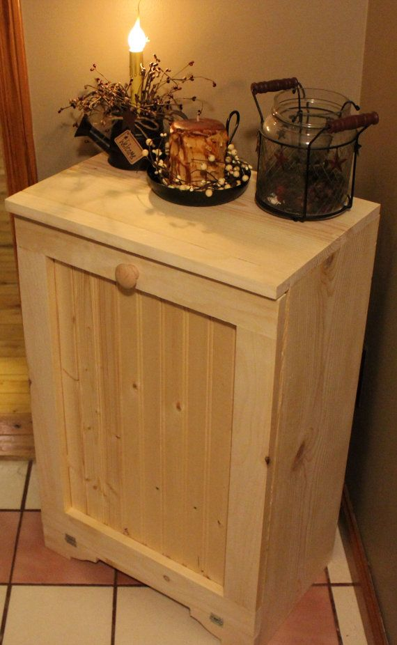 unfinished kitchen island pop up outlets for 25 best images about tilt-out trash bin on pinterest ...