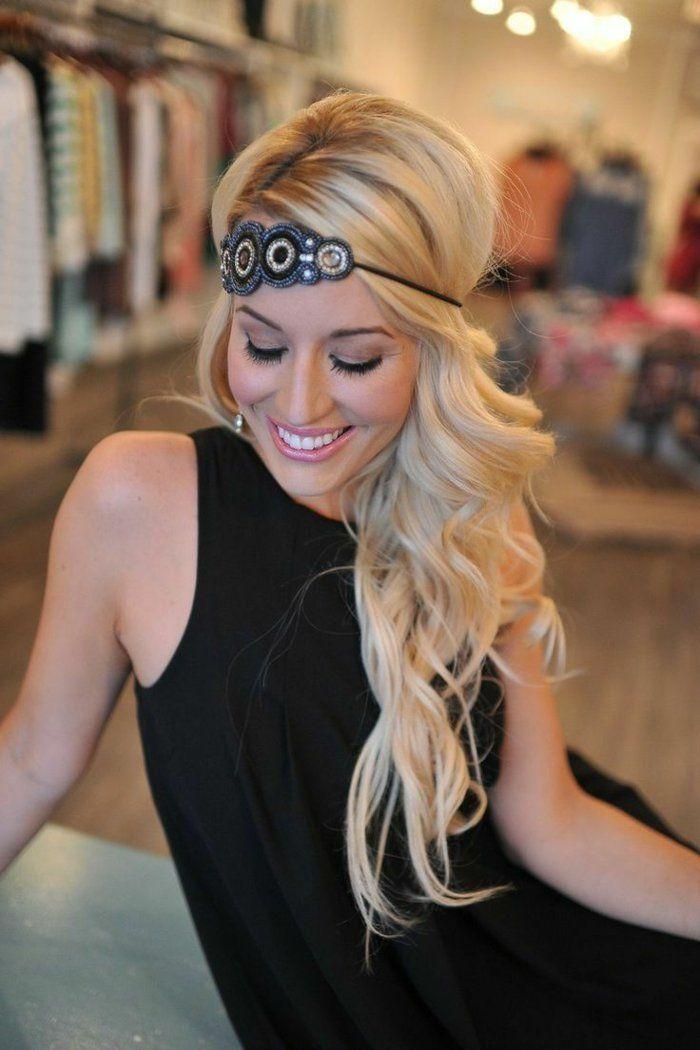 Die 25 Besten Ideen Zu Haarband Frisur Auf Pinterest