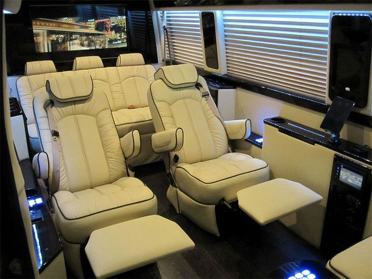 Mercedes Sprinter Viano luxury recliner seats reclining