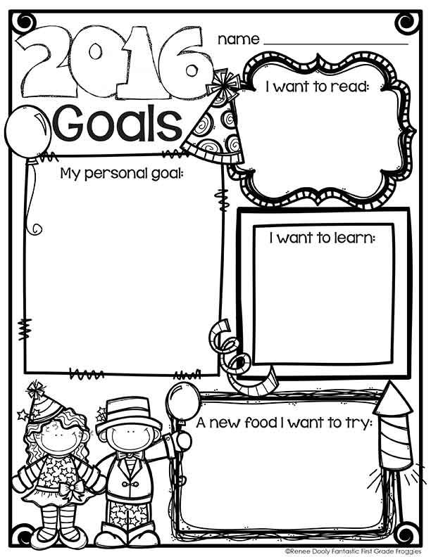 42 best images about New Year 1st grade on Pinterest