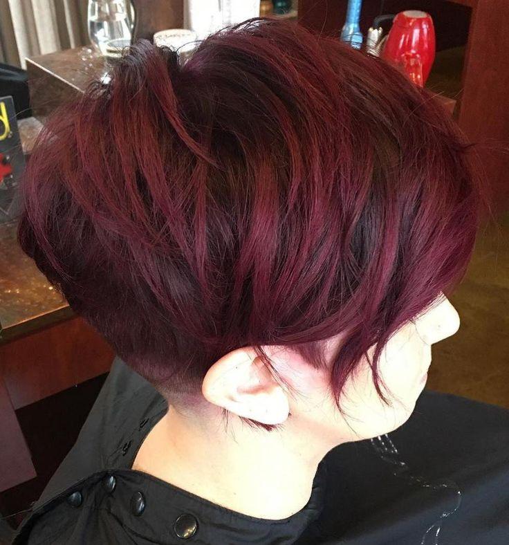 17 Best ideas about Dark Burgundy Hair on Pinterest