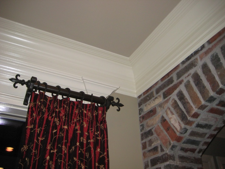 17 Best ideas about Short Curtain Rods on Pinterest
