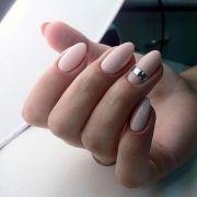 ideas blush nails