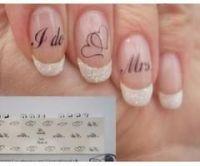 17 Best ideas about Wedding Nails Art on Pinterest