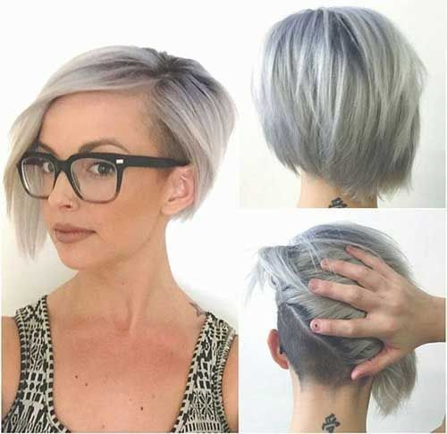25 Best Ideas About Undercut Bob On Pinterest Short Hair