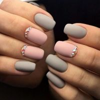 25+ best Gray Nail Art ideas on Pinterest | Gray nails ...